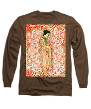 Japanese Woman Rise Dressing - Long Sleeve T-Shirt