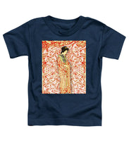 Japanese Woman Rise Dressing - Toddler T-Shirt