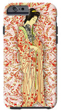 Japanese Woman Rise Dressing - Phone Case