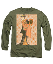 Japanese Woman Rise Rubino                                      - Long Sleeve T-Shirt