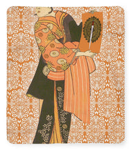 Japanese Woman Rise Rubino                                      - Blanket