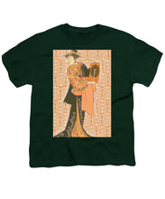 Japanese Woman Rise Rubino                                      - Youth T-Shirt