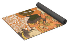 Japanese Woman Rise Rubino                                      - Yoga Mat
