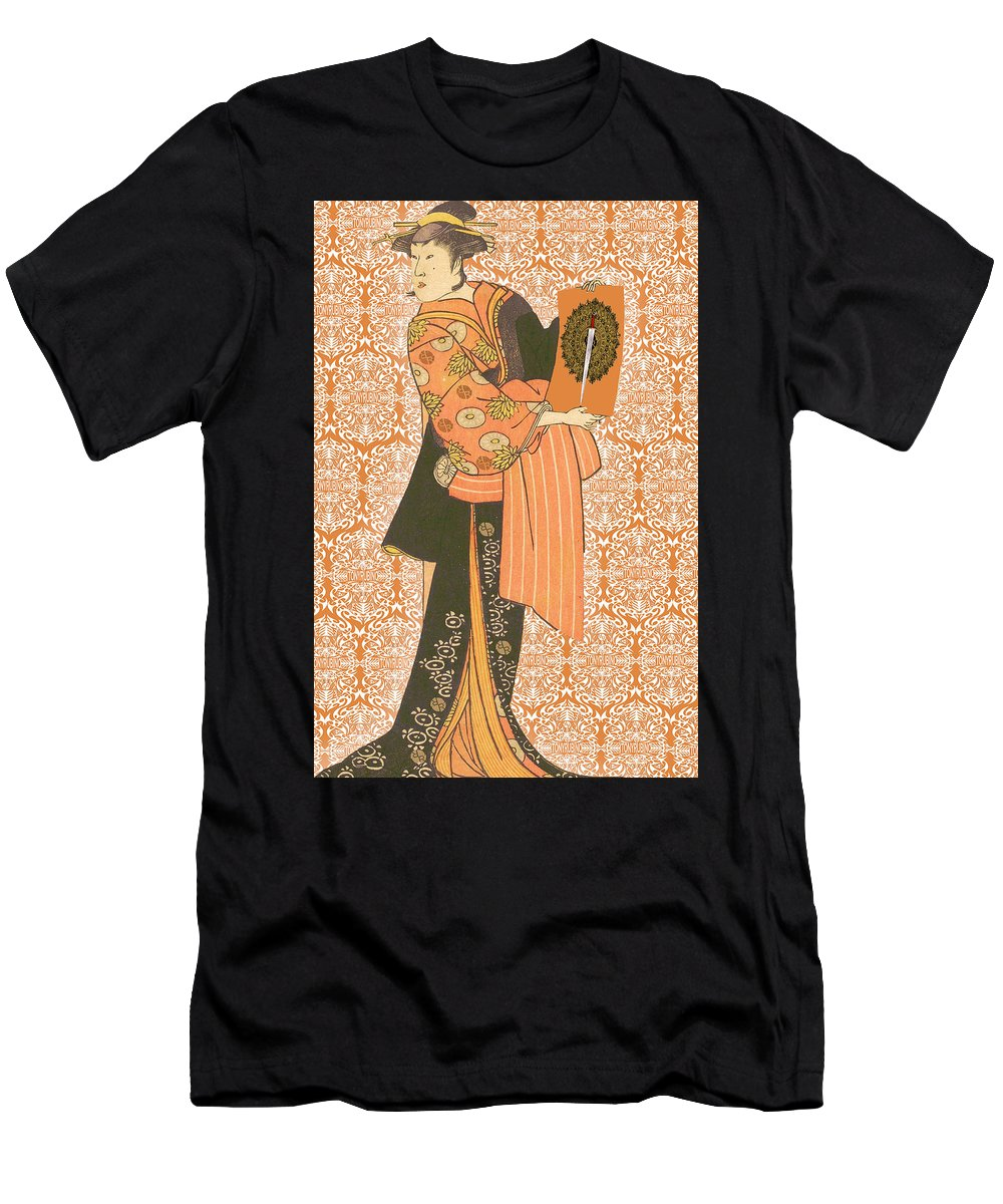 Japanese Woman Rise Rubino                                      - Men's T-Shirt (Athletic Fit)