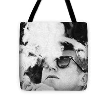 Jfk Cigar And Sunglasses Cool President Photo - Tote Bag