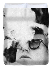 Jfk Cigar And Sunglasses Cool President Photo - Duvet Cover