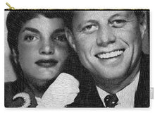 John F Kennedy And Jackie - Carry-All Pouch