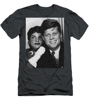 John F Kennedy And Jackie - Men's T-Shirt (Athletic Fit)