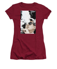 John F Kennedy Cigar And Sunglasses 2 Large - Women's T-Shirt (Athletic Fit)