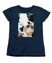 John F Kennedy Cigar And Sunglasses 2 Large - Women's T-Shirt (Standard Fit)