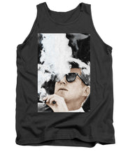John F Kennedy Cigar And Sunglasses 2 Large - Tank Top