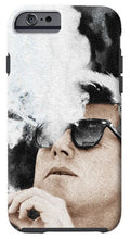 John F Kennedy Cigar And Sunglasses 2 Large - Phone Case