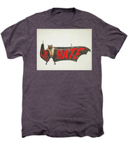 Love Hate Bat - Men's Premium T-Shirt
