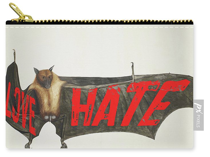 Love Hate Bat - Carry-All Pouch