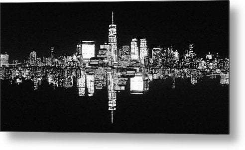 Manhattan 2 - Metal Print