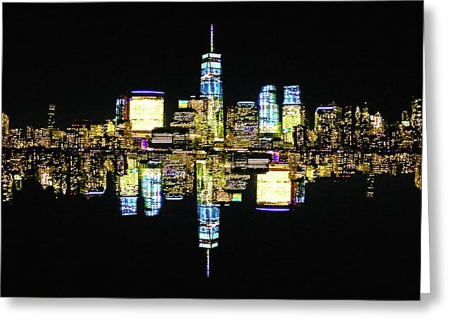 Manhattan - Greeting Card