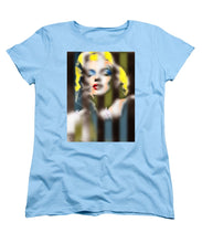Marilyn Monroe Fuzzy Stripes - Women's T-Shirt (Standard Fit)