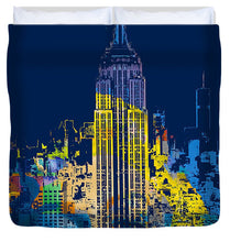 Marilyn Monroe New York City 2 - Duvet Cover