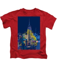 Marilyn Monroe New York City 2 - Kids T-Shirt