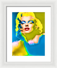 Marilyn Monroe Pop - Framed Print