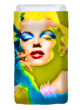Marilyn Monroe Pop - Duvet Cover