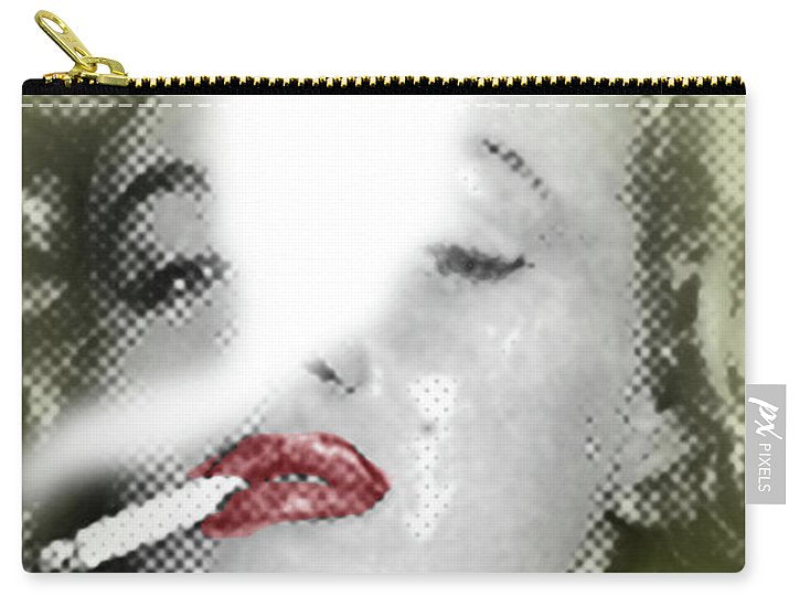 Marilyn Monroe Smokes 2 - Carry-All Pouch