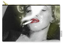 Marilyn Monroe Smokes - Carry-All Pouch