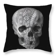 Metal Skull - Throw Pillow