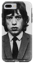 Mick Jagger Mug Shot Vertical - Phone Case