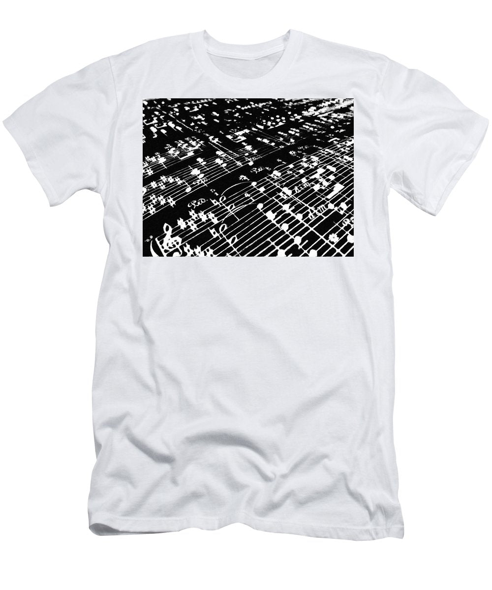 Music Painting - Men's T-Shirt (Athletic Fit)