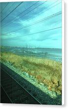 New Jersey From The Train 1 - Canvas Print