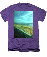 New Jersey From The Train 1 - Men's Premium T-Shirt