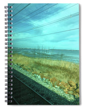 New Jersey From The Train 1 - Spiral Notebook