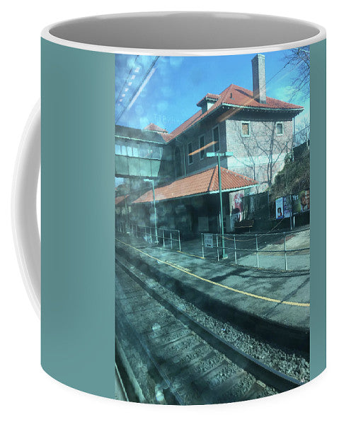 New Jersey From The Train 3 - Mug