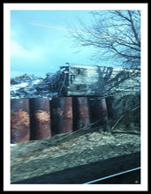 New Jersey From The Train 5 - Framed Print