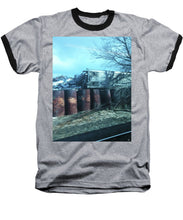 New Jersey From The Train 5 - Baseball T-Shirt