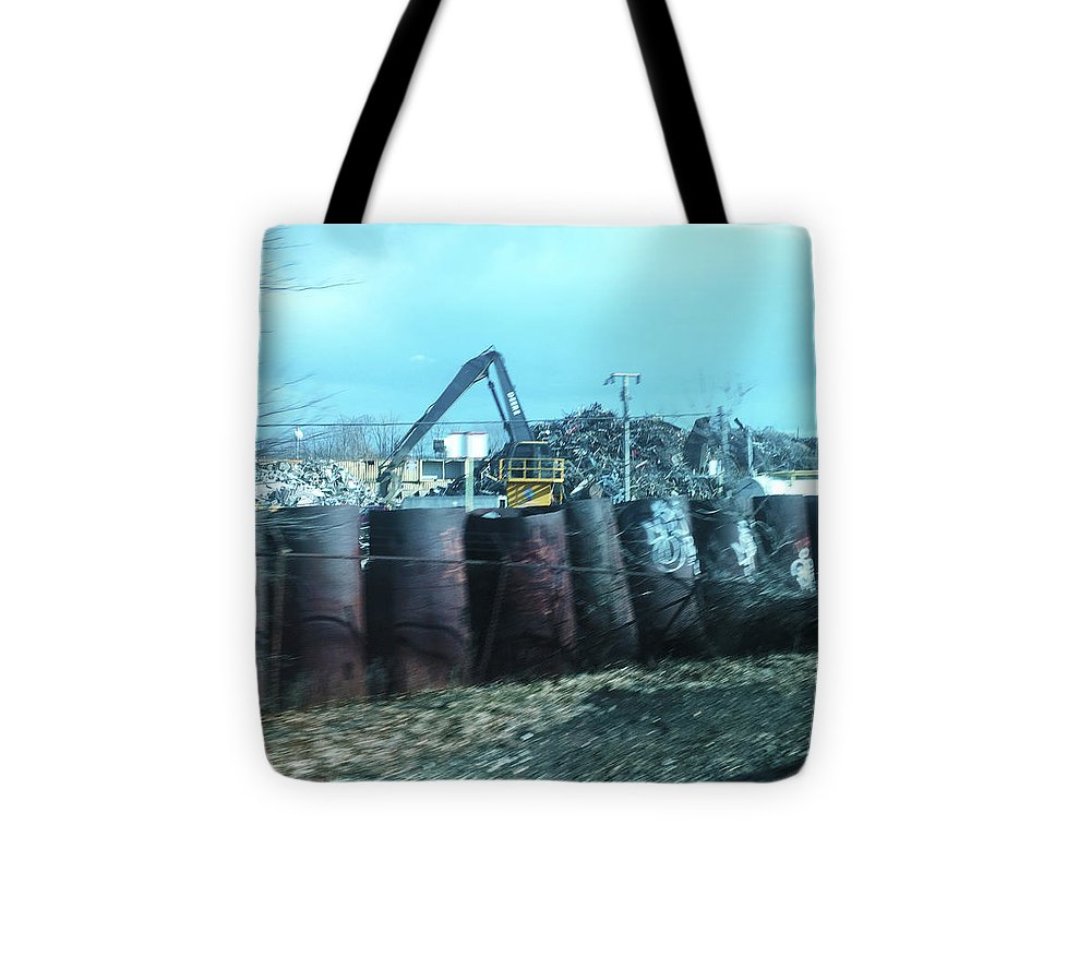 New Jersey From The Train 6 - Tote Bag