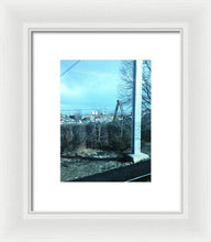 New Jersey From The Train 7 - Framed Print