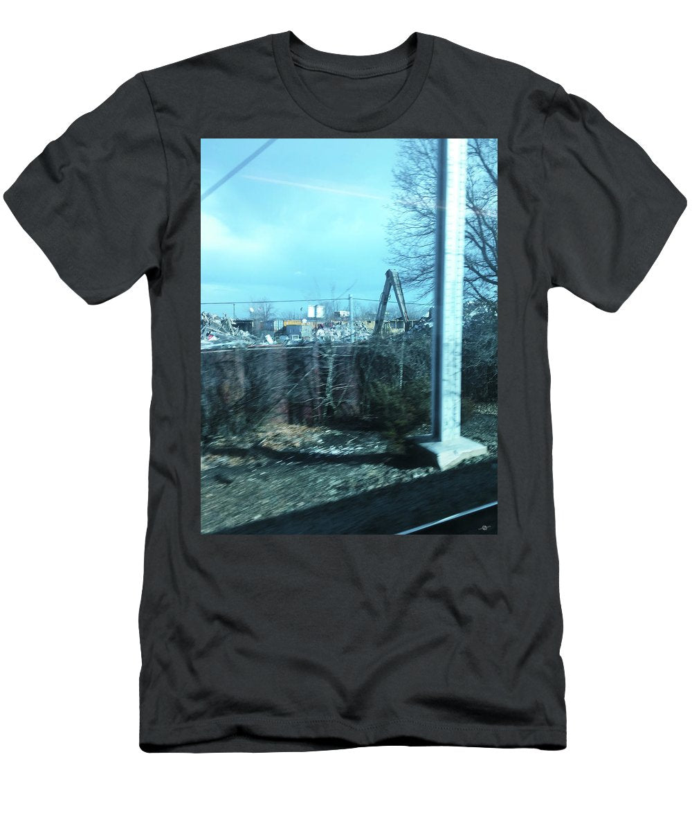 New Jersey From The Train 7 - Men's T-Shirt (Athletic Fit)