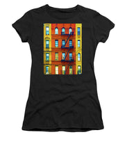 New York City Apartment Building 2 - Women's T-Shirt (Athletic Fit)
