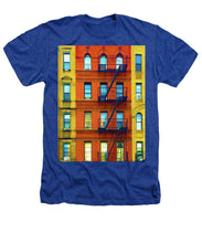 New York City Apartment Building 2 - Heathers T-Shirt