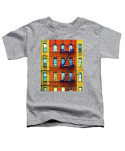 New York City Apartment Building 2 - Toddler T-Shirt