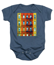 New York City Apartment Building 2 - Baby Onesie