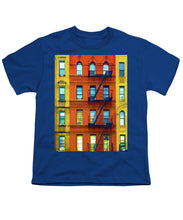 New York City Apartment Building 2 - Youth T-Shirt