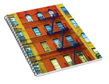 New York City Apartment Building 2 - Spiral Notebook