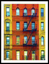 New York City Apartment Building 2 - Framed Print