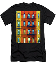 New York City Apartment Building 2 - Men's T-Shirt (Athletic Fit)