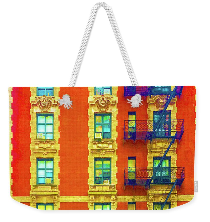 New York City Apartment Building 3 - Weekender Tote Bag