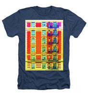 New York City Apartment Building 3 - Heathers T-Shirt