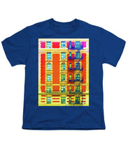 New York City Apartment Building 3 - Youth T-Shirt